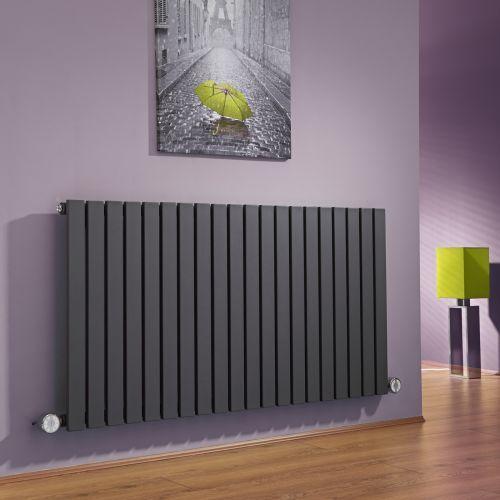 Create a contemporary look with the Milano Capri anthracite electric designer radiator