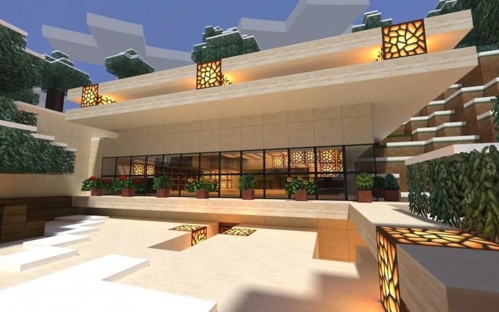 how to download a minecraft modern mansion for pc