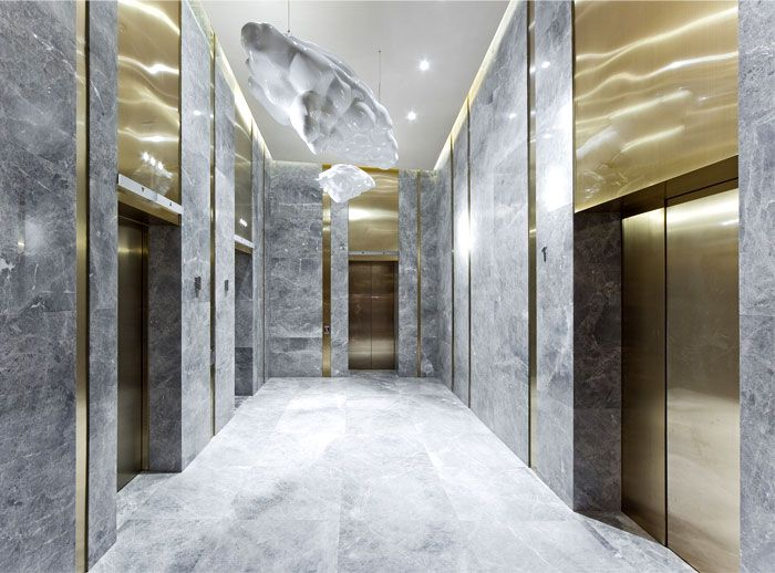 Chinese Boutique #Hotel Skytel chinese boutique hotel brass marble decor