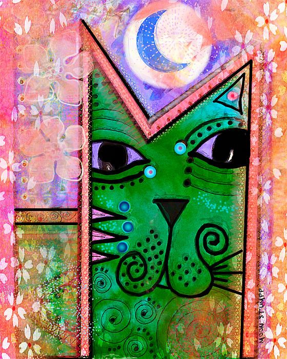 House Of Cats Series - Moon Cat