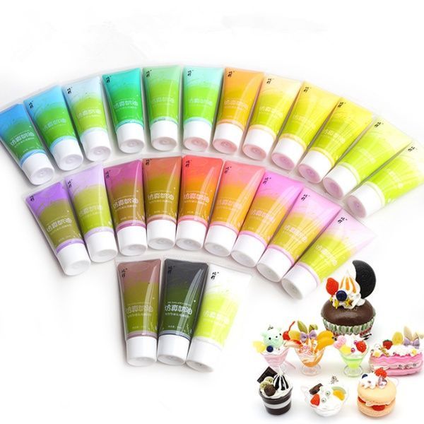 50ml Decoden Whipped Cream Glue Kawaii DIY Craft Phone Case Moulding Decor Gift