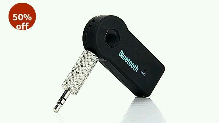 iball Compatible Wireless car Bluetooth 3.5mm Jack Aux Cable at 50% OFF on Amazon  https://www.avjtrickz.com/iball-car-bluetooth-receiver/