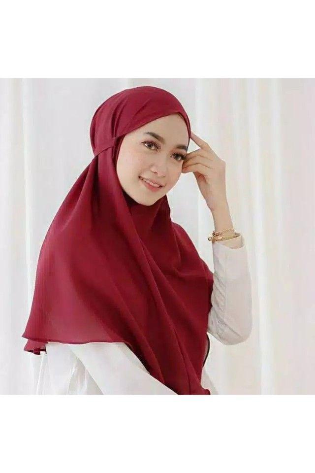 Jilbab Instan Bergo Maryam Wa 0821 2125 3205 Gaya Wanita Kerudung Wanita