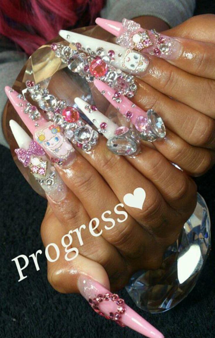 643 besten Nails Bilder auf Pinterest | Nagelkunst, Absätze und ...