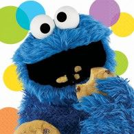 Cookie Monster Napkins (16pk) $8.50 A518597