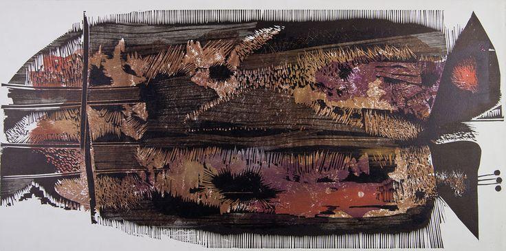 Zbigniew Lutomski, Ptaki, 1962 r. #birds #ptaki #kolekcjaMNK #MNKcollection #kolekcja