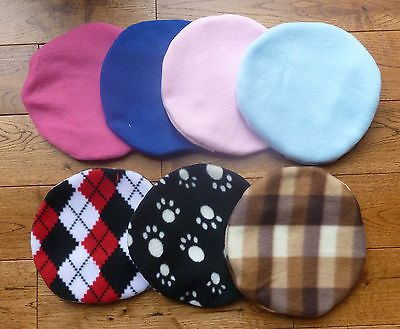 REPLACEMENT FLEECE COVER FOR SNUGGLESAFE TYPE HEAT PADS WITH VELCRO FASTENING