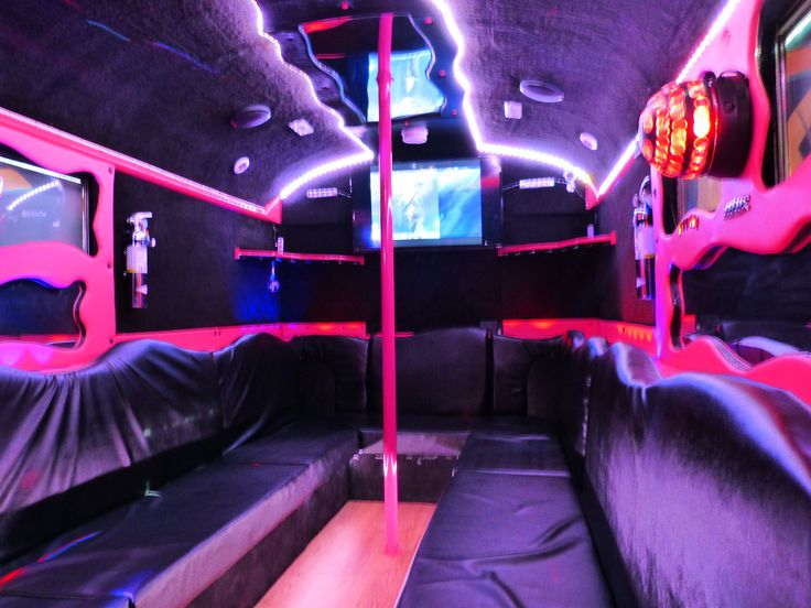 Custom Party Bus, Interior LED Strips 10M RGB