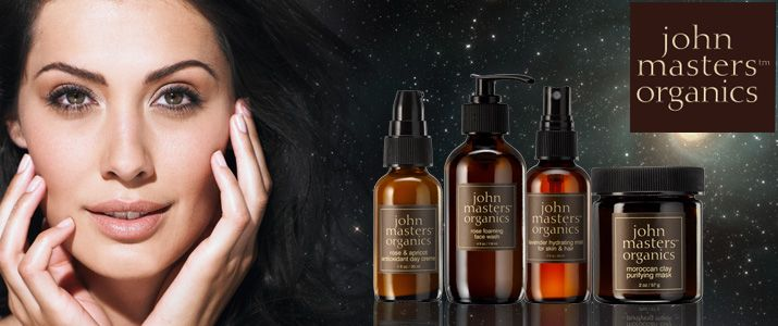 John Masters Organics Face products - less is more!  You don't need many face care products, to create your daily face care routine. John Masters Organics gives you few simple but very rich natural skin-food to take care of your face morning and evening.