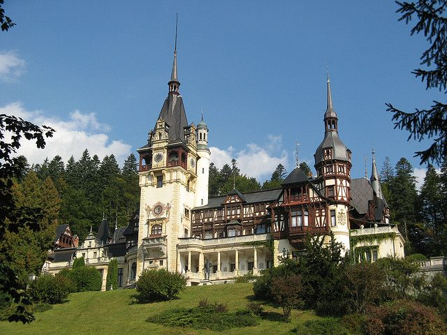 Peles Castle, Sinaia -   If you start your trip in Bucharest, Romania's capital (served by two international airports), you will find the picturesque Peles Castle in the city of Sinaia on the route to Brasov. Built between 1873-1914, this Neo-Renaissance landmark was commissioned by King Carol I and briefly served as the headquarters of the Romanian monarchy.    Today, this national museum is visited by travelers all around the Globe and is considered one of the most elegant castles in…