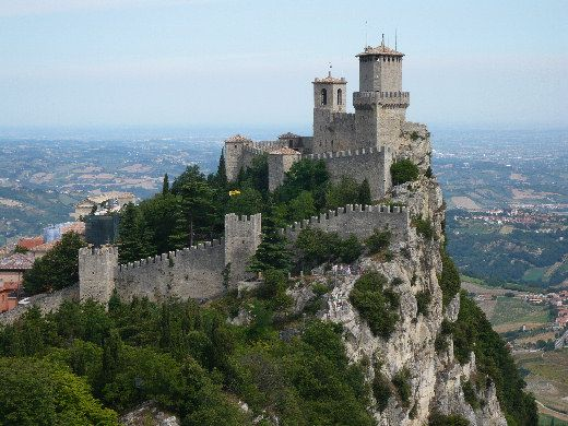 Castello di San Marino / the Castle of San Marino