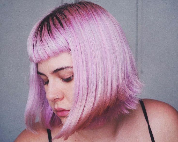 """4,834 curtidas, 52 comentários - Luiza Junqueira (@luizajunquerida) no Instagram: """"Close de cabelo lilás pastel """""""