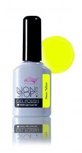 Vernis Semi-Permanent Neon Yellow 10ml #vernissemipermanent #vernispermanent #geluv #geluvdiscount #ongles #nail #nailart #fauxongles #onglesparfaits #manucure #gelpolish