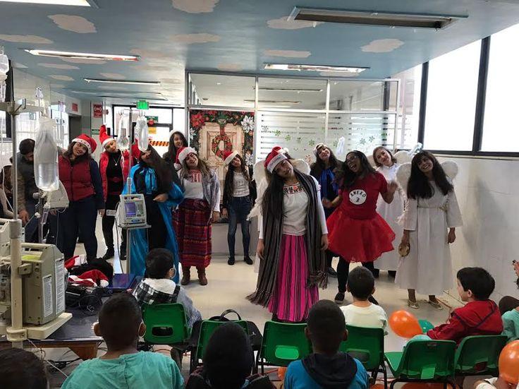 Realizan maestras del aula hospitalaria posada para niños internados en el Hospital Morelos del IMSS | El Puntero