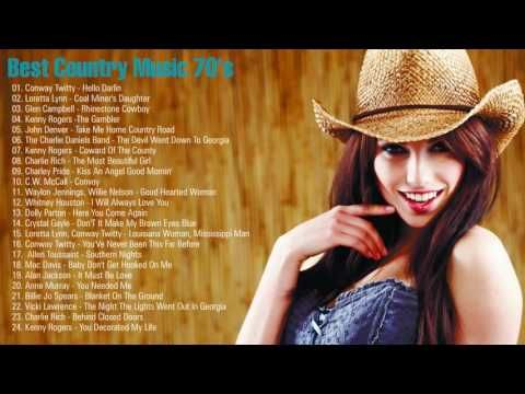 Best Country Music 70's - 70s Country Songs - Country Music All Time - Best Country Hits - YouTube