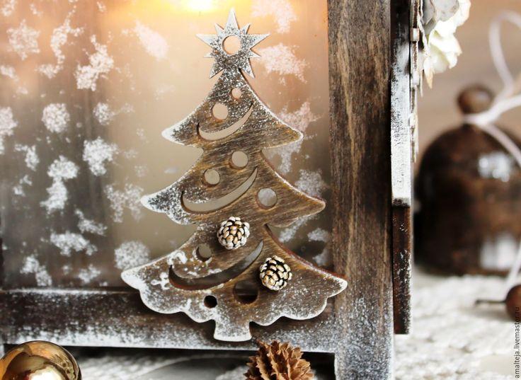 """Купить Подсвечник """"Сочельник"""" - Новый Год, рождество, рождественский подарок, рождественский декор, новогодний декор"""