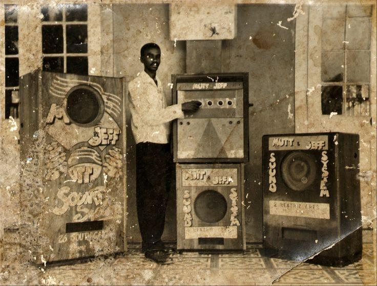 MUTT & JEFF's sound-system, late fifties...
