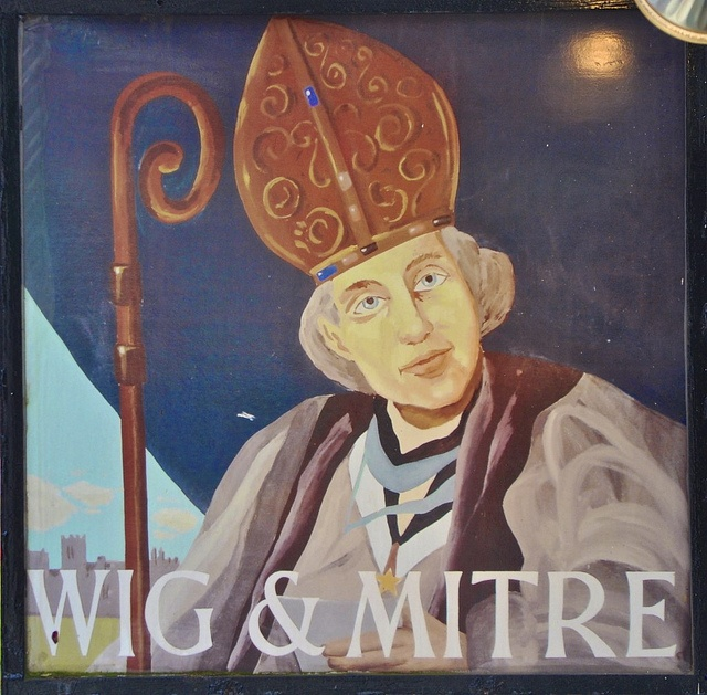Wig And Mitre In Lincoln 55