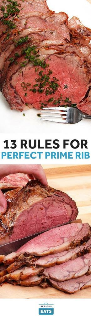Is there anything more truly beautiful than a perfect* prime rib? A deep brown crust crackling with salt and fat, sliced open to reveal a juicy pink center that extends from edge to edge, the faint but distinct funk of dry-aging permeating the room as it gets sliced.