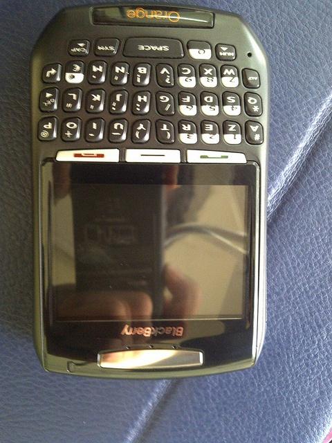 blackberry 8707g  Orange