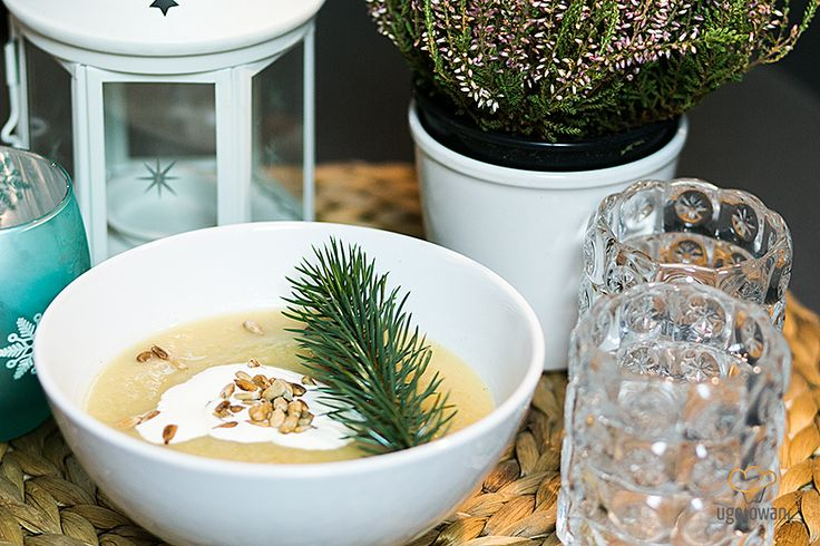 Zupa krem z selera i gruszki by Jak Ona To Robi