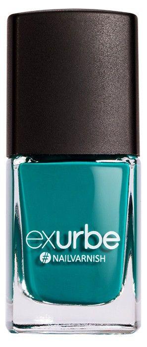 Emerald – veganer Nagellack von exurbe cosmetics. Vegan nail polish.