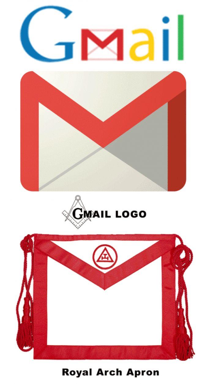 Gmail Logo Masonic Apron