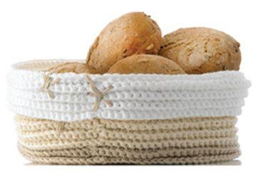 Hæklet brødpose - Hækling - Håndarbejde og strikkeopskrifter - Familie Journal