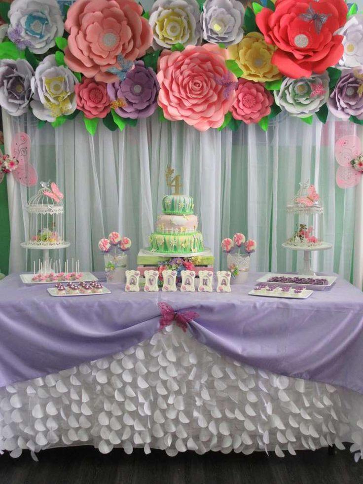 Butterfly Garden! Birthday Party Ideas