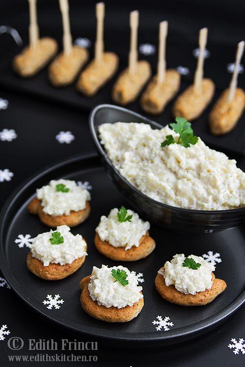 Salata de conopida cu maioneza si usturoi, ideala ca aperitiv sau ca garnitura la friptura. Merge de minune cu cartofi prajiti sau orice fel de friptura.