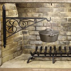 Perfect Add An Early American Look To Your Fireplace With A Swing Away, Fireplace  Crane. Our Fireplace Crane Has An Swivel Arm And A Mounting Bracket That Is  ...
