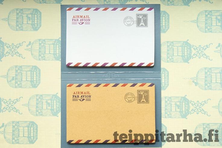 €5.50 Kirjekuori tarralaput