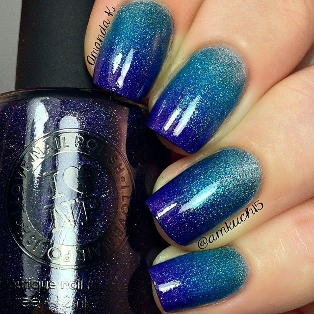 Two Tone Nail Polish Fade: 333 Best Nail Art- Ombre /Gradient Images On Pinterest