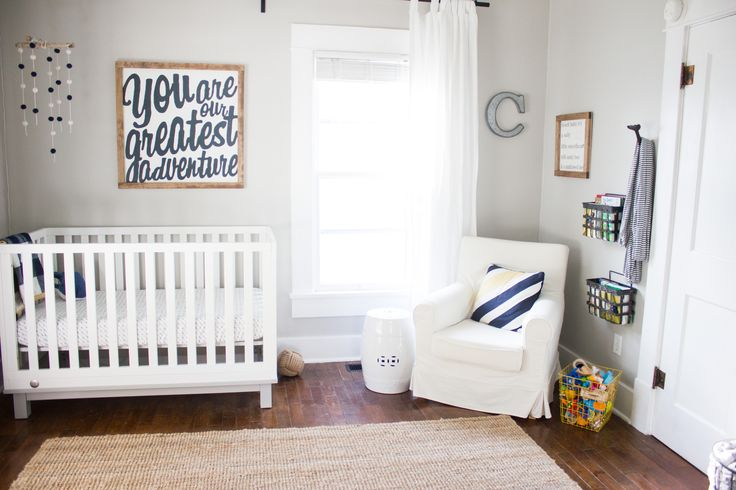 Bright,+Airy,+Beach+Baby+Nursery