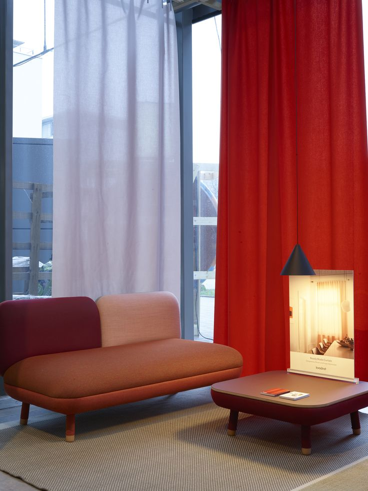 The Ready Made Curtain by Ronan and Erwan Bouroullec for Kvadrat. Shown at Design Post in Cologne.