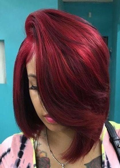 Red Hairstyles Delectable 119 Best Red Hairstyles Images On Pinterest  Black Girls Hairstyles
