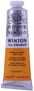 Winsor & Newton Winton Yağlı Boya 46 Cadmium Yellow Deep Hue