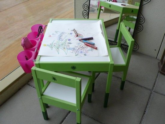 DIY Artist table.