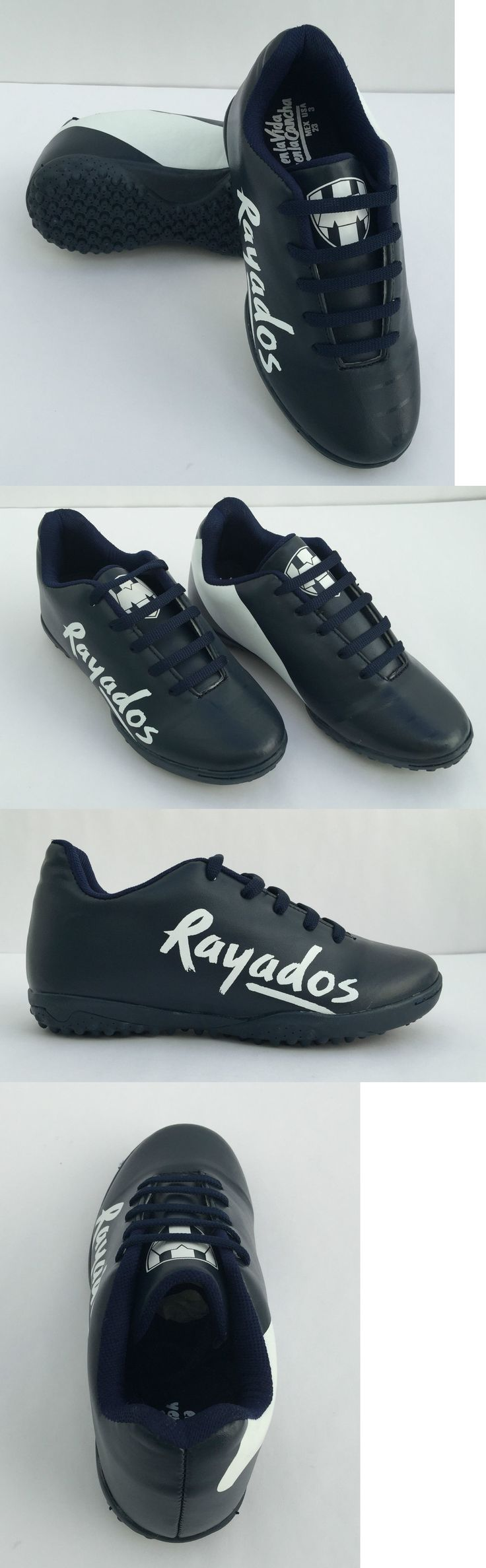 Other Soccer Clothing and Accs 159179: Kids Soccer Shoes Licensed Rayados De Monterrey Size 12 To 6 Dark Blue -> BUY IT NOW ONLY: $33.99 on eBay!