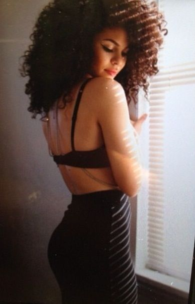 Natural hair - the curves of light