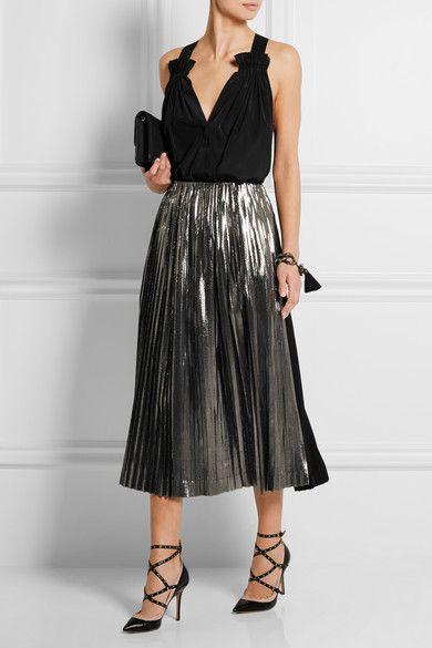 RDuJour-Hatch Clothing Skirt Net-a-Porter - Get The Look - Evening OOTD