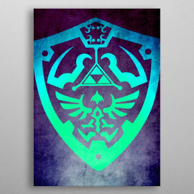 Winter Sale - Use code: SNOWMAN Buy 3-4 get 15% OFF | 5+ 25% OFF.   Movie & Gaming Posters on Metal Prints.  #gaming #gamer #thelegendofzelda #zeldaposter #zeldashield #cool #awesome #campus #dorm #fraternity #poster #displate #homedecor #39;s #style #family #movieposter #onlineshopping #shopping #sales #discount #save #movies #film #deals #sale #winter  #kids #gamingposters #art #zelda #games  #geek #nerd