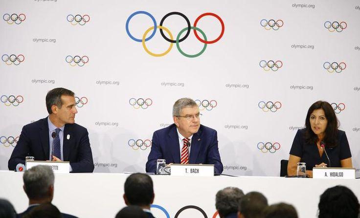 EN DIRECT - Le CIO réuni à Lausanne vient de valider la décision attendue par un vote à main levée : les villes de Paris et Los Angeles sont assurées d'organiser les Jeux en 2024 ou 2028.