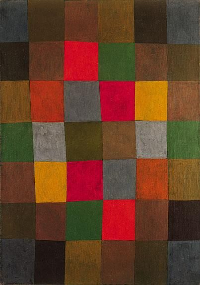 paul klee - Klee was one of those modernists inventing beautiful 'pixel-art', as hand-painted art, years before computer-pixels existed.