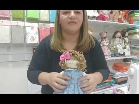 Aula 1 - Boneca Bruninha, seu mascote e suas roupinhas - YouTube