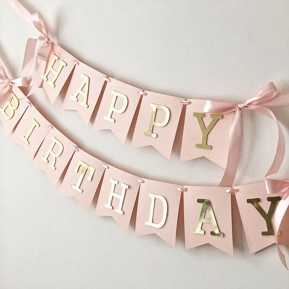 SWEET GIRL 1st Happy Birthday party FLOWERS BUTTERFLIES jumbo letter 2 BANNERS