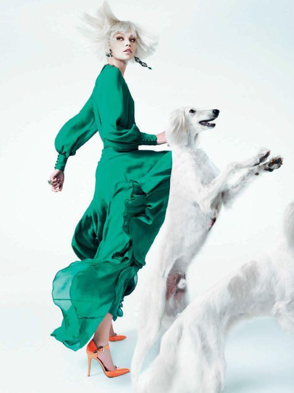 ❤ =^..^= ❤  Aline Weber by Zee Nunes for Vogue Brasil December 2013