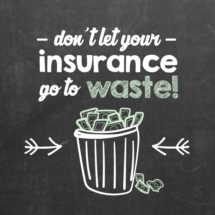 DID YOU REMEMBER to use all your insurance benefits this year? Don't let them go to waste!                                                                                                                                                                                 More