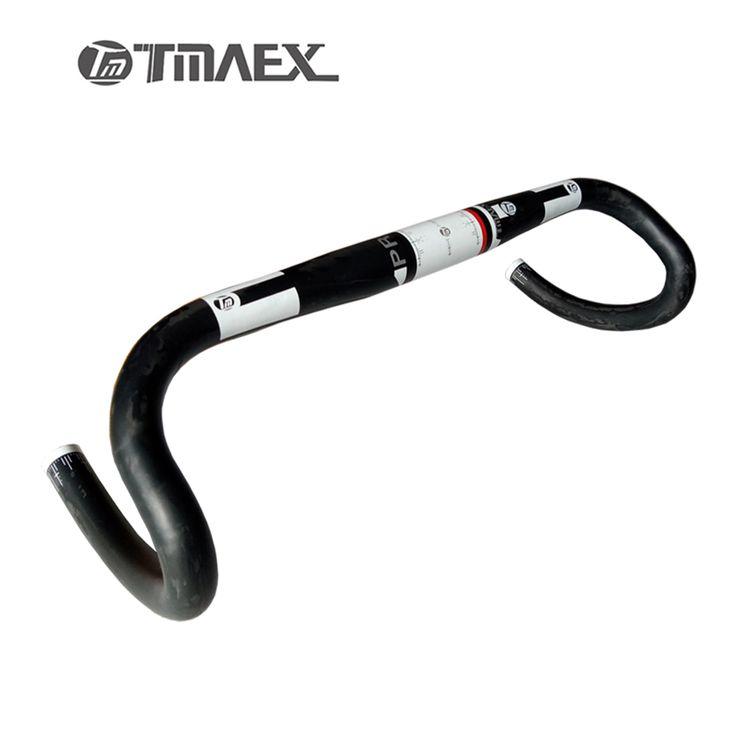 Carbon Handlebar New Top Carbon Fiber Road Bar Manillar Carbono Carretera TMAEX  Pro UD White Carbon Road Handlebar #Affiliate