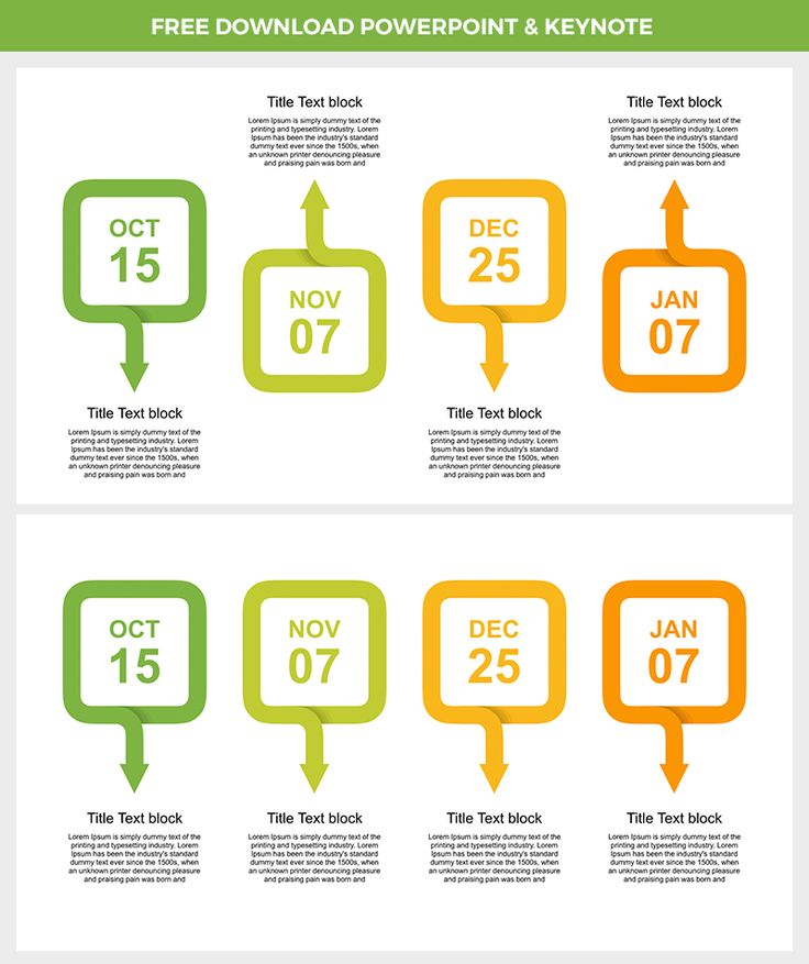 Download Free #Timeline #infographic with #arrow for #Presentation. #For #PowerPoint #PPT https://goo.gl/8Pc18R , for #Keynote #KEY https://goo.gl/gJfmjP . Easy editable, fresh color theme #Green #Orange
